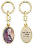 Blessed Solanus Casey Oval Key Chain