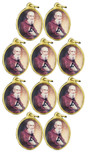 Blessed Solanus Casey Oval Charm - Pack of 10!