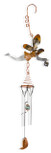 Hanging Fairy and Wind Chimes Garden Ornament