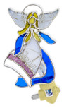 Angel of Blessing Stained Glass Night Light