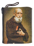 Blessed Solanus Casey Embroidered Rosary Pouch