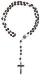 Solanus Casey Rosary with Mahogany Beads