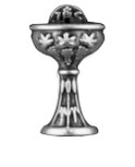 Host and Chalice Pin by Venerare