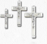 Glow-in-the-Dark Rosary Cross - Pack of 3