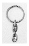 Durable Catholic Key Chain with Saint Medal Fob