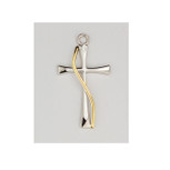Christian Sterling Silver Cross