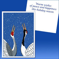 Cranes in Snow Card - 8 pack