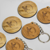 Circle Logo Key Chain
