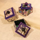 Purple Washi Boxes