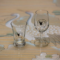 Logo Wine and Beer tasting glasses