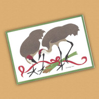 Sandhill Cranes Holiday Card