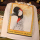 Grey Crowned Crane Flour Sack Towel