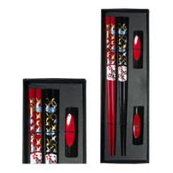 lacquer chopsticks with cranes