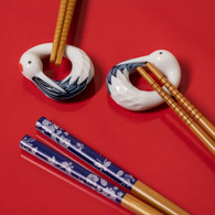 Red-crowned Crane chopstick rest