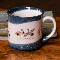 Red-crowned Crane Stoneware Mug