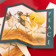 Peace Cranes Screen card