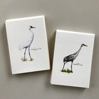 Whooping Crane notecard package