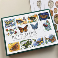 Butterflies Asst Boxed Blank Cards
