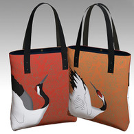 Red-crowned Crane  Urban Tote
