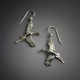Flying Sandhill Cranes earrings