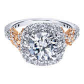 Gabriel & Co. Engagement Ring MPN-ER11972R6T83JJ