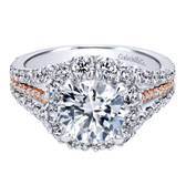 Gabriel & Co. Engagement Ring MPN-ER11987R6T83JJ