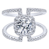 Gabriel & Co. Engagement Ring MPN-ER12641R4W44JJ