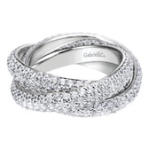 Gabriel & Co. Wedding Band MPN-AN6034-8W44JJ