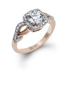 Zeghani Engagement Ring MPN-ZR1135