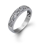 Zeghani Wedding Band MPN-ZR159
