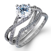 Simon G Engagement Ring MPN-MR1394 SET
