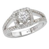 Romance Complete Engagement Ring Complete MPN-118013-050C