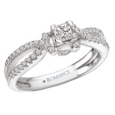 Romance Complete Engagement Ring Complete MPN-118103-025C