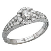 Romance Complete Engagement Ring Complete MPN-118173-025C
