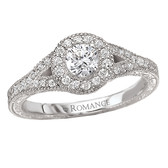 Romance Complete Engagement Ring Complete MPN-118174-025C