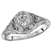 Romance Complete Engagement Ring Complete MPN-118287-050C