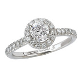 Romance Complete Engagement Ring MPN-118002-025S