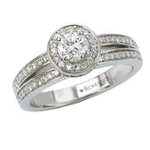 Romance Complete Engagement Ring MPN-118015-025S