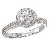 Romance Complete Engagement Ring MPN-118033-075S