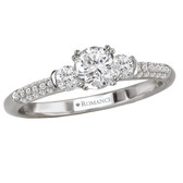 Romance Complete Engagement Ring MPN-118168-040S