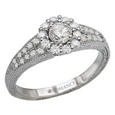 Romance Complete Engagement Ring MPN-118173-025S