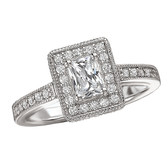 Romance Engagement Ring Complete MPN-118193-050C