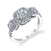 Venetti Engagement Ring MPN-A178WE