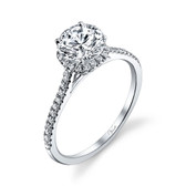 Venetti Engagement Ring MPN-B292WE