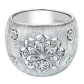 Gabriel&Co. Boutique Silver Category:Ladies' Ring Collection:Madison Style:Fashion  Color Stone Quality:White Sapphire Metal Type:925 Silver