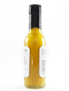Queen Majesty - Scotch Bonnet Ginger Hot Sauce - Back