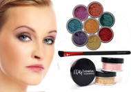 gift deal 8 stacks eye shadows with foundation mf4