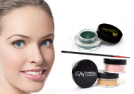 gift kit : Gel eye liner green with foundation mf1