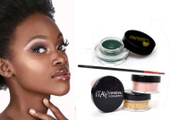 GIFT KIT:GEL ETE LINER GREEN WITH FOUNDATION MF-9 TARAMISU