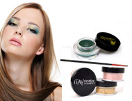 gift kit : Gel eye liner green with foundation mf2